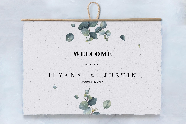 Eucalyptus Foliage Wedding Suite example image 6