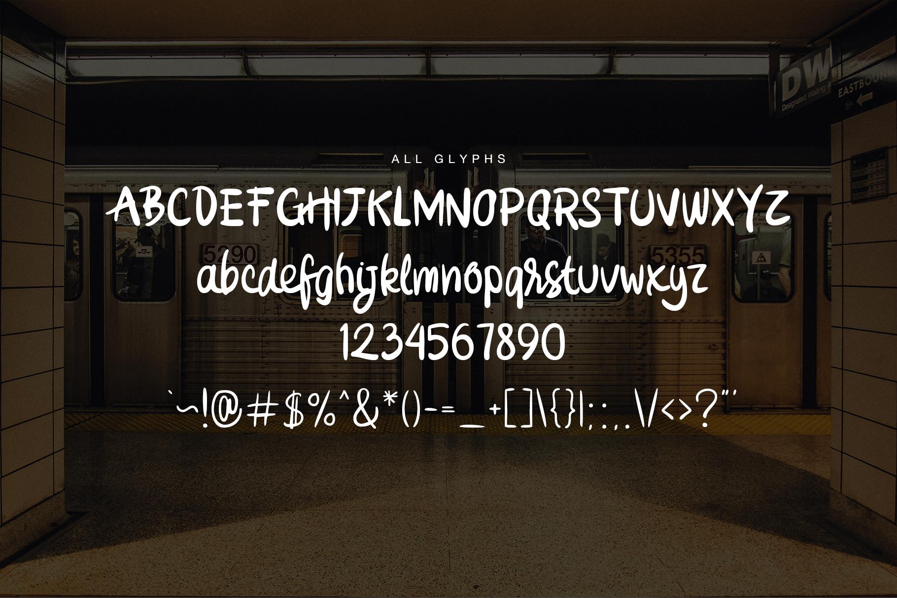Stassyun Handwriting Font example image 3