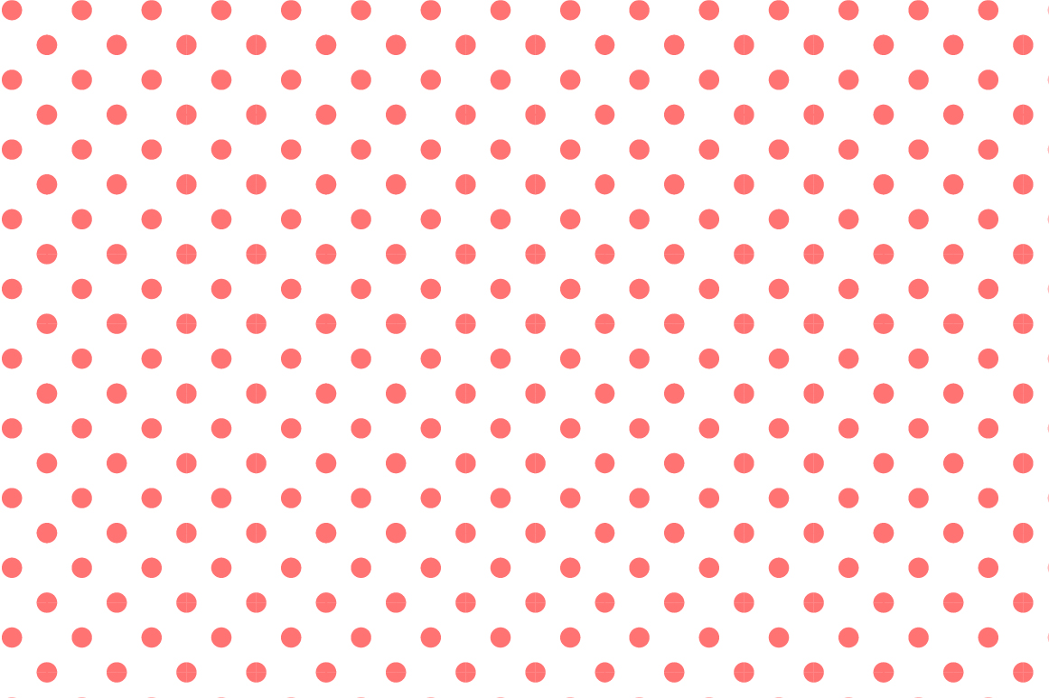 Dotted seamless patterns. Vector set example image 5