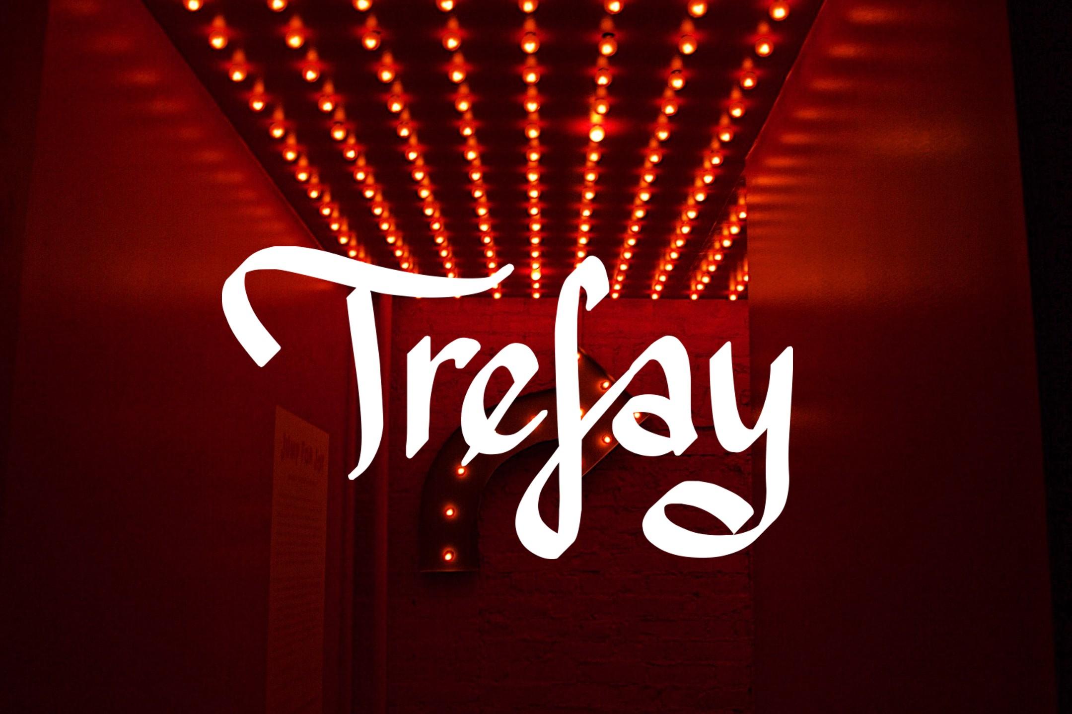 Trefay Font example image 1