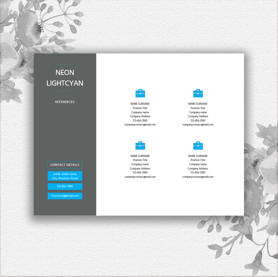 Landscape Resume Template example image 2
