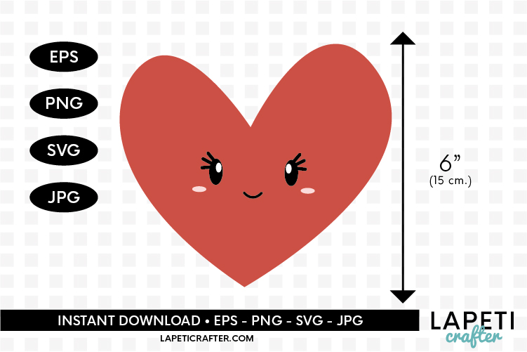 Valentines Day clip art, all you need is love svg, eps, png example image 5