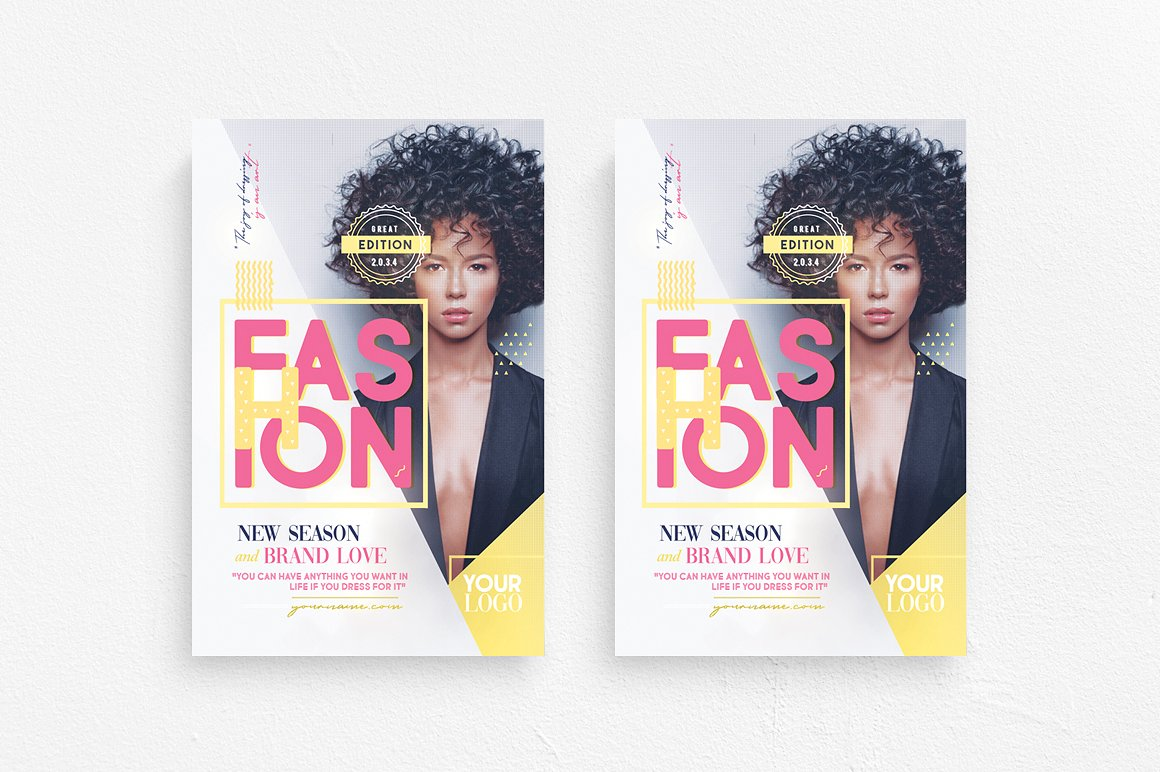 Fashion Show Flyer Template example image 1