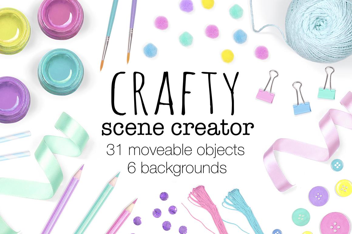 Craft Scene Creator - Top View example image 1