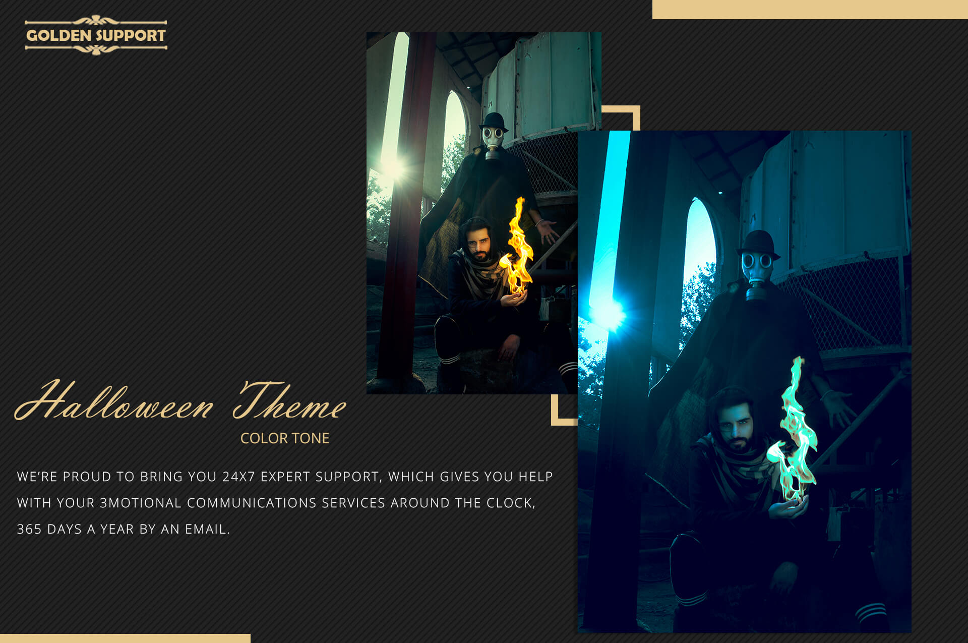 Halloween Theme Collection Color Grading Lightroom presets example image 9