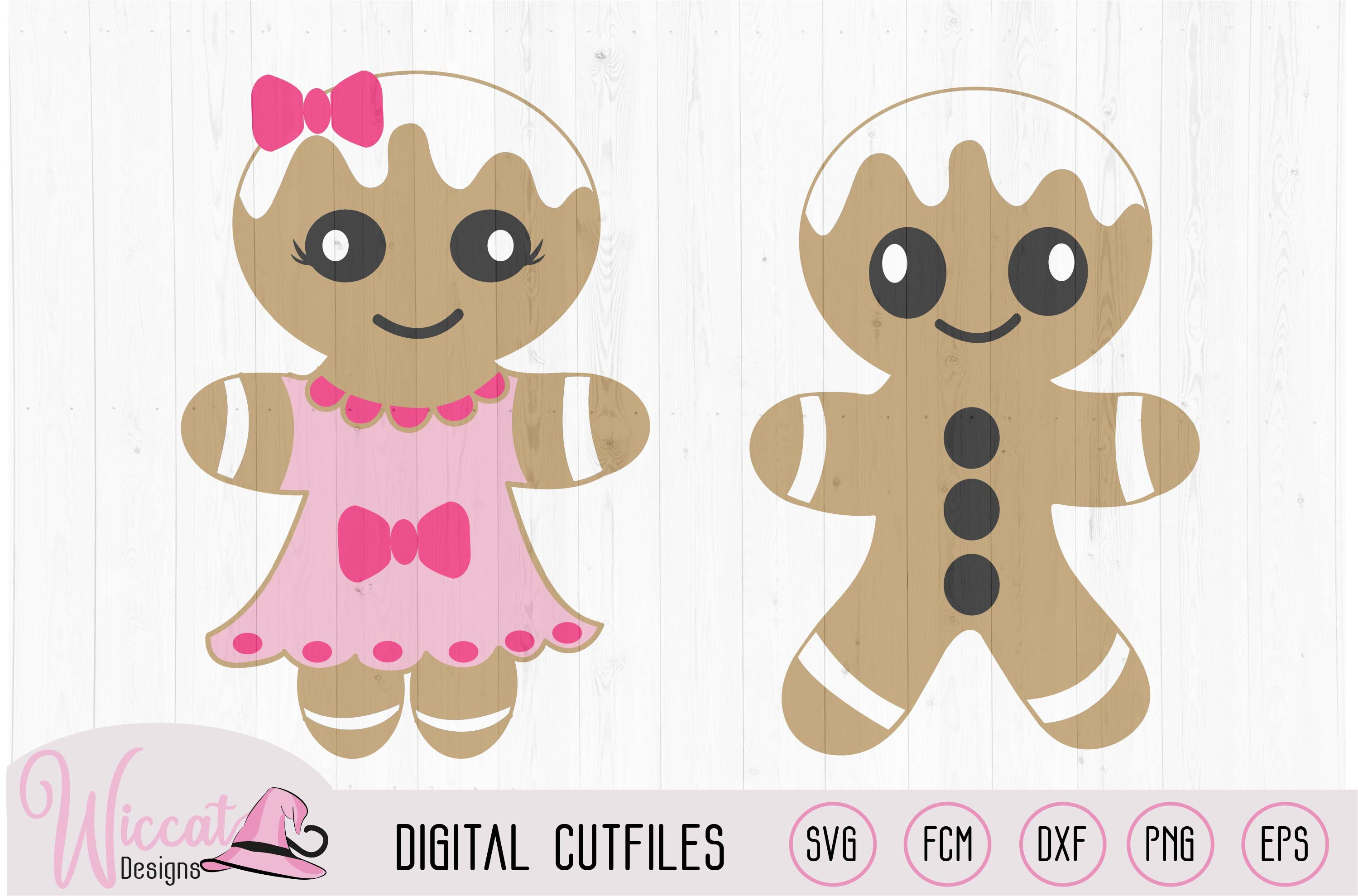 Gingerbread Man bundle, home decoration, example image 4