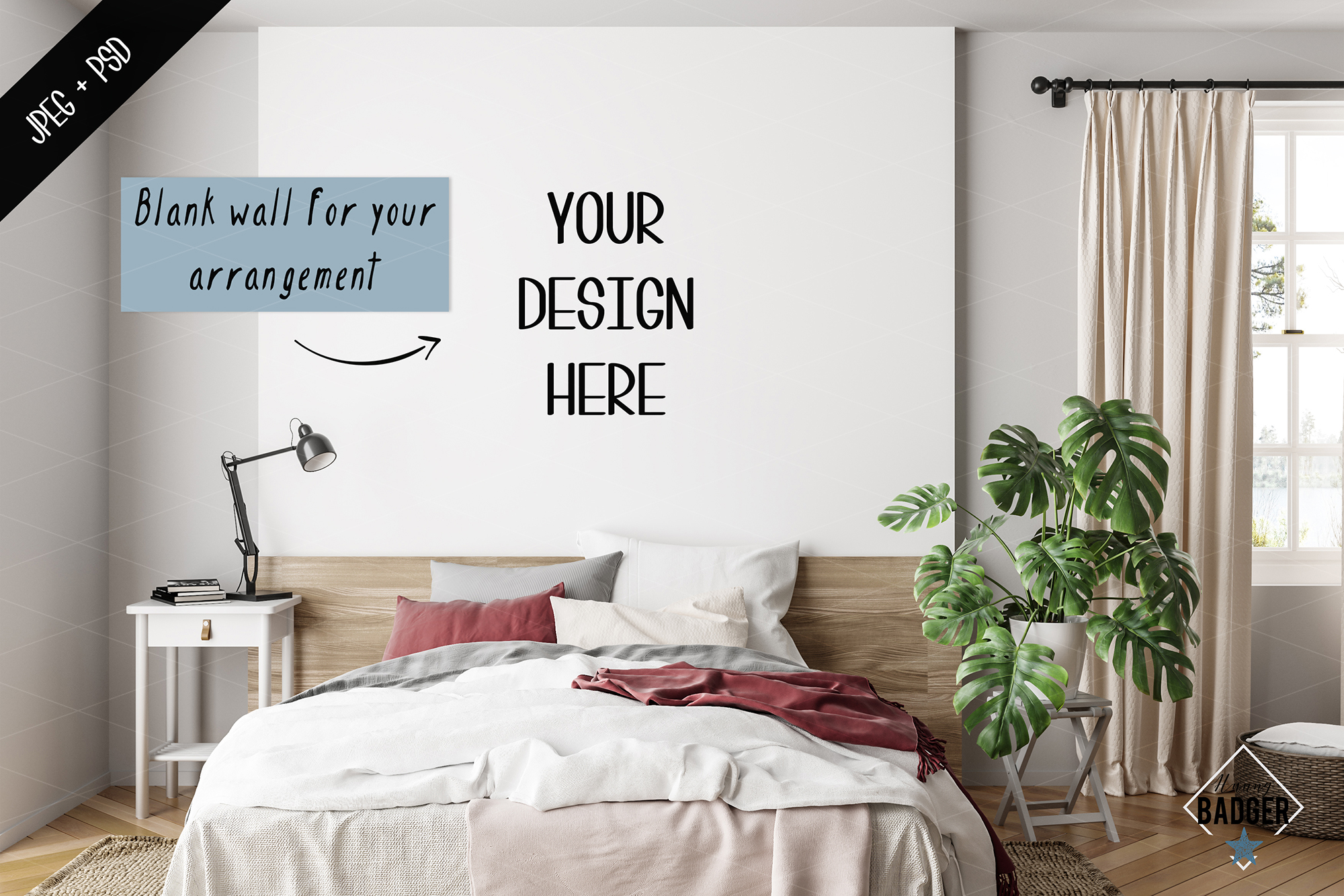 Interior mockup BUNDLE - frame & wall mockup creator example image 5
