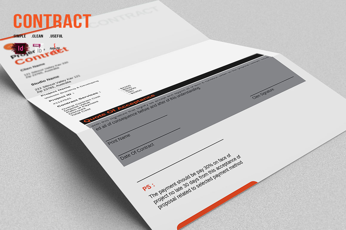 Design Proposal & Project Complement example image 1