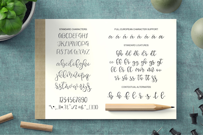 Squirrel Script Font example image 5
