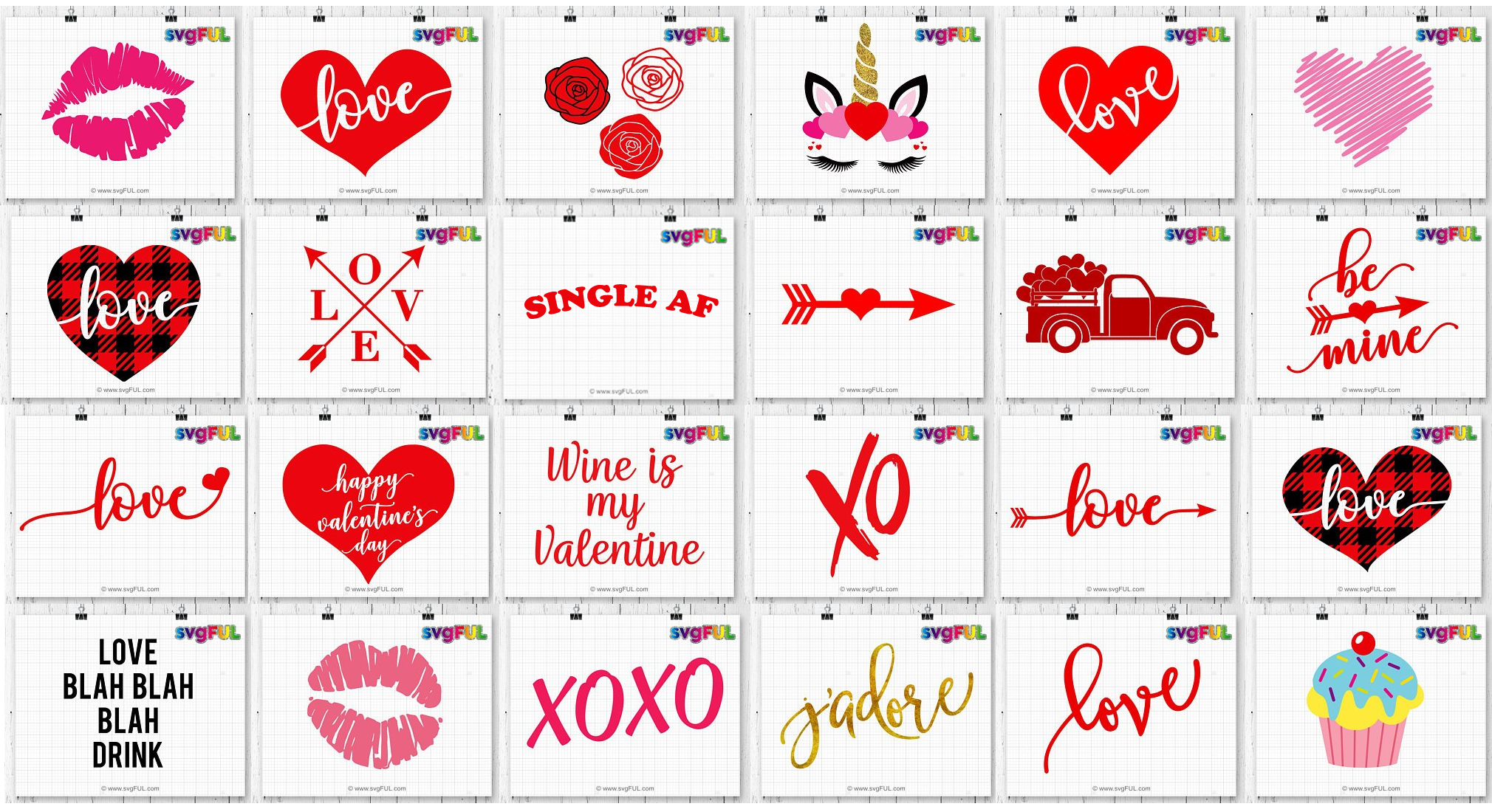 Be Mine Valentines Day Svg Printable Dxf Clipart Craft Bundl example image 2