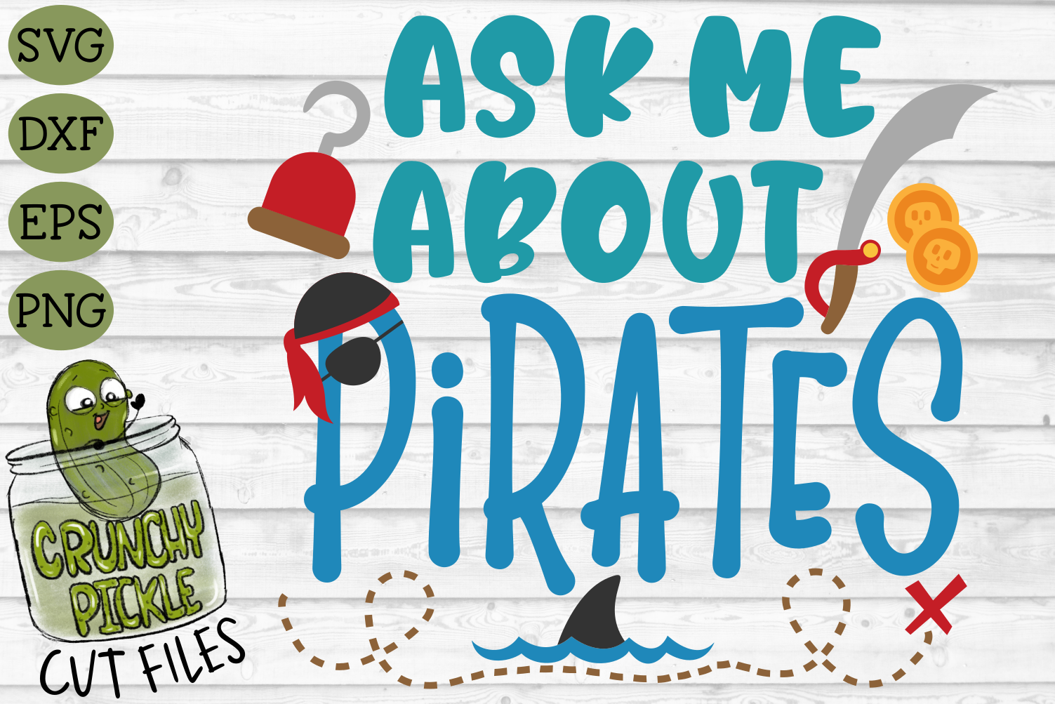 Ask Me About Pirates SVG example image 2
