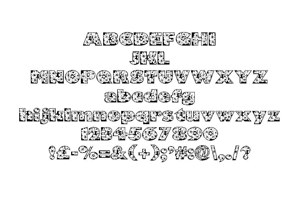Zensyrom font example image 2