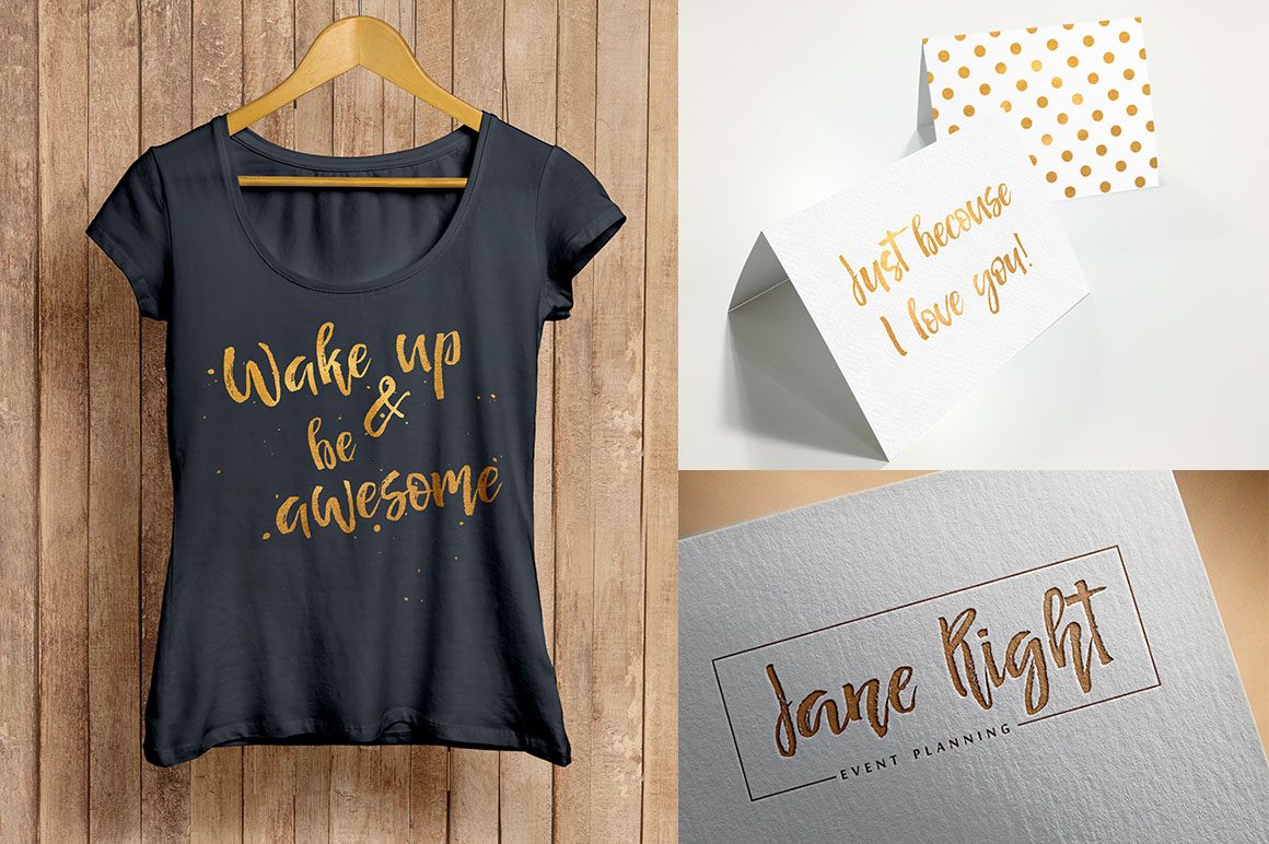 Señorita Handwritten Textured Font example image 8