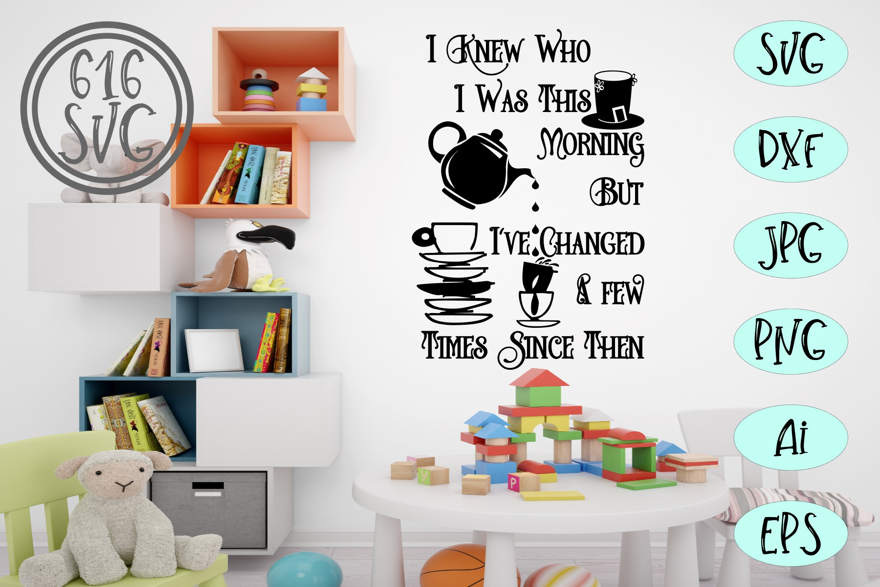 Childrens Library Bundle SVG, DXF, Ai, PNG example image 13