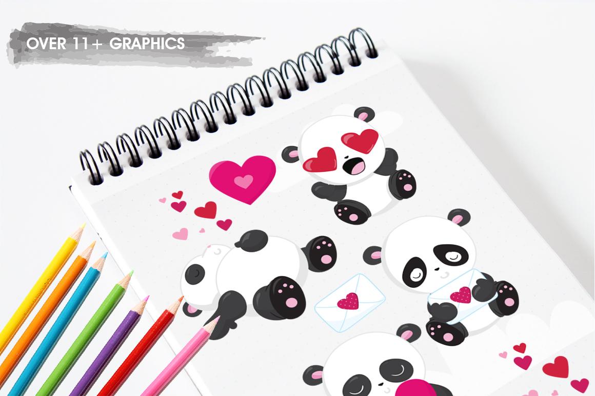 Panda Bear graphics and illustrations example image 3
