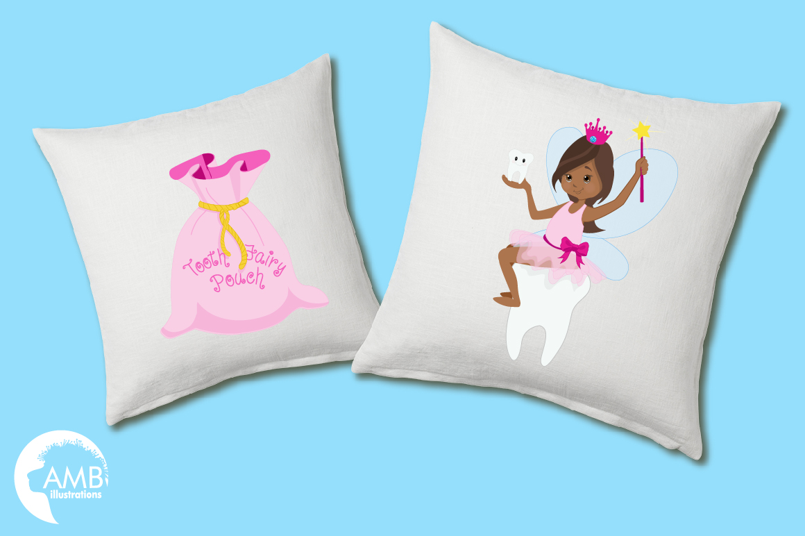 Fairy girls, Toothfairy girls clipart, graphics and illustrations AMB-1134 example image 2