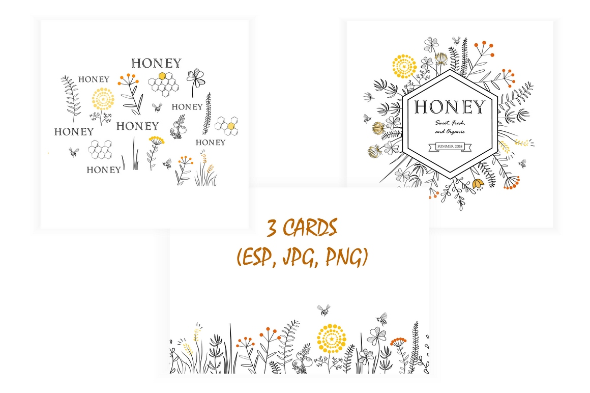 Honey Collection example image 2