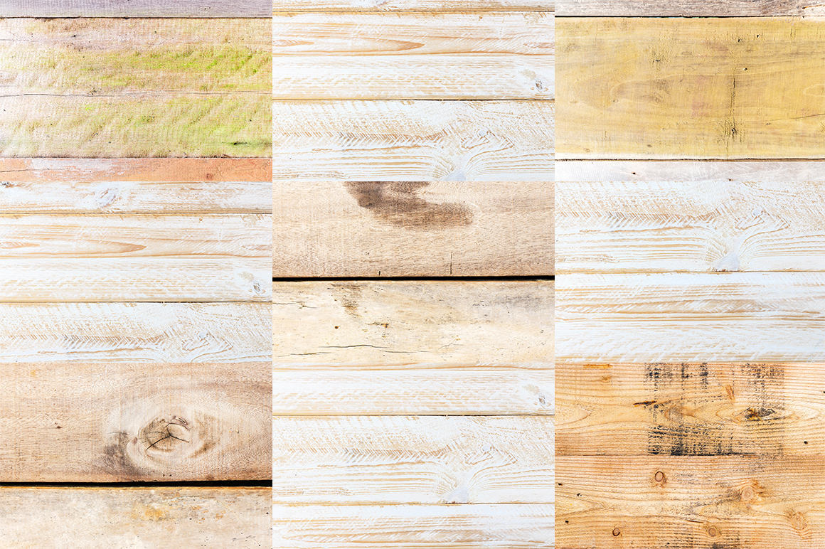 20 Wood Texture Background set 02 example image 4