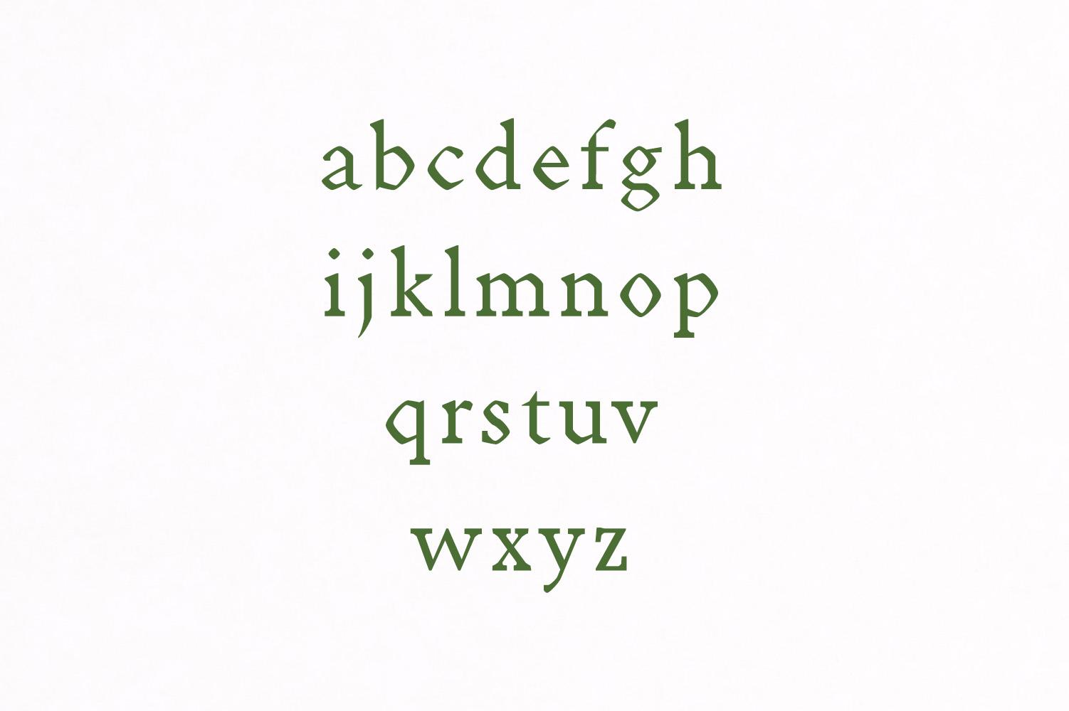 Achazia Serif Typeface example image 3