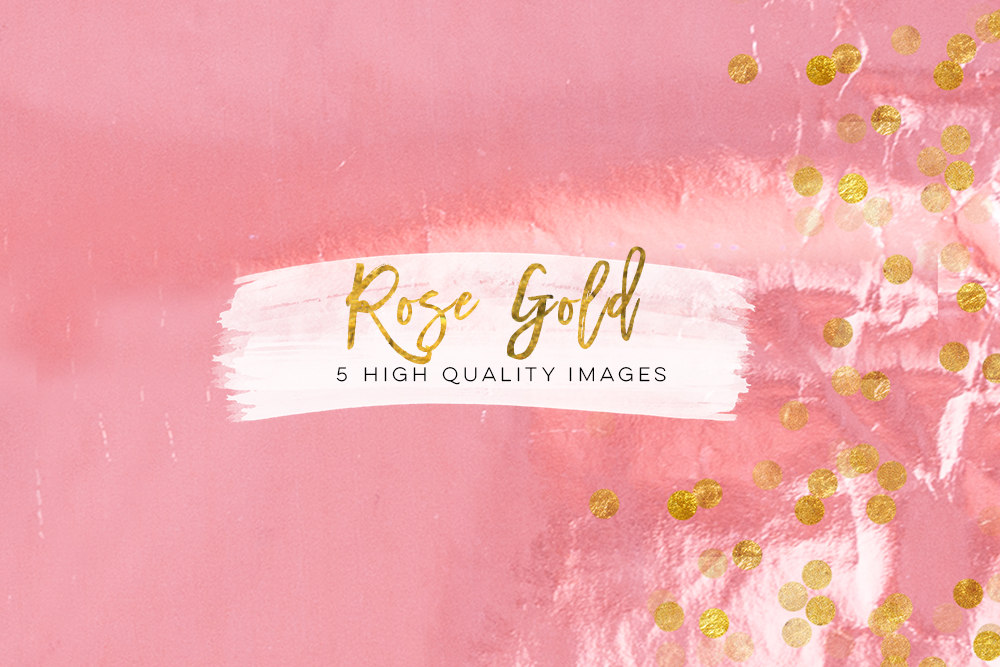 pink peach rose gold digital download texture, graphic design paper, rose gold texture paper, rose paper, pink floral confetti glitter art example image 3
