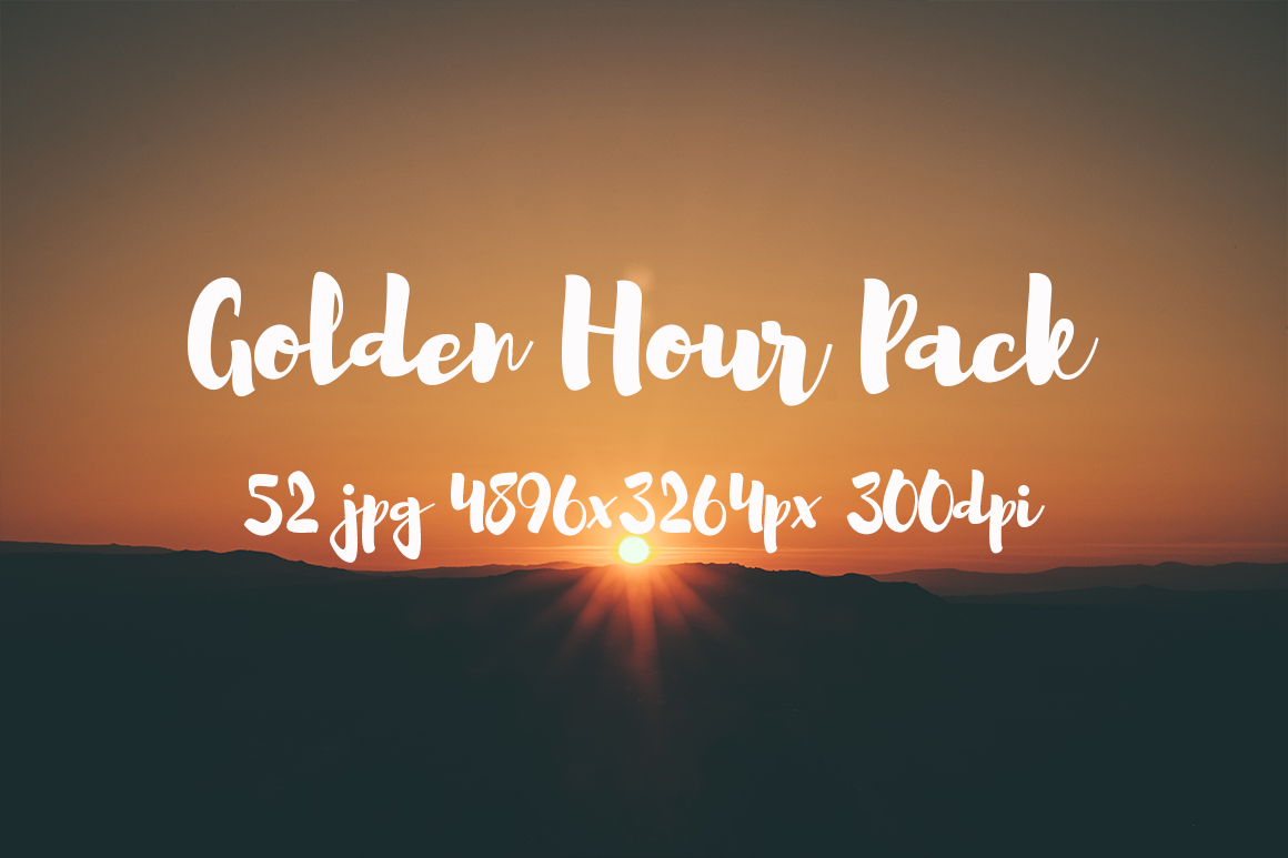 Golden hour Pack example image 5
