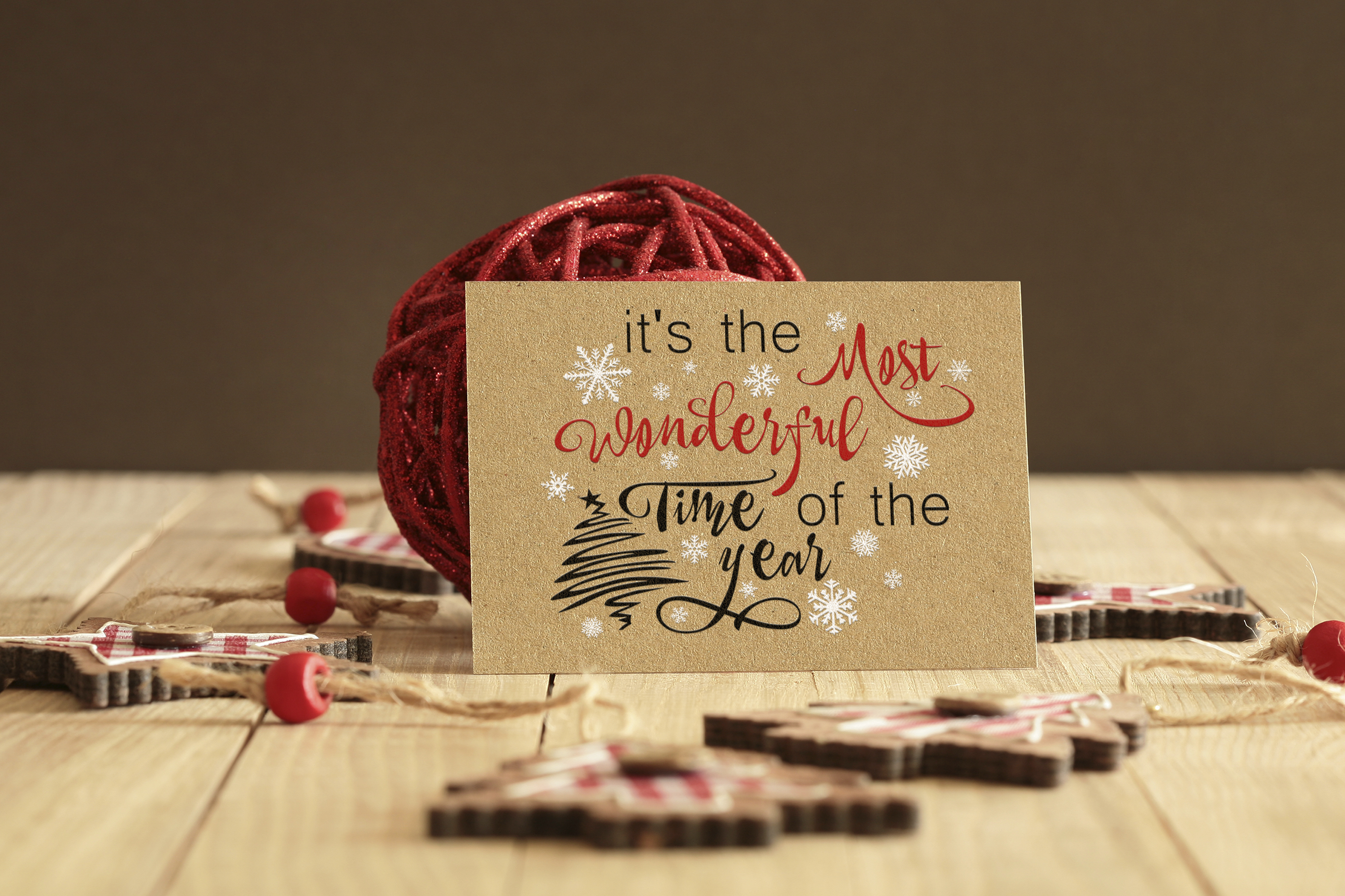 Christmas svg Its the most wonderful time of the year Winter example image 8
