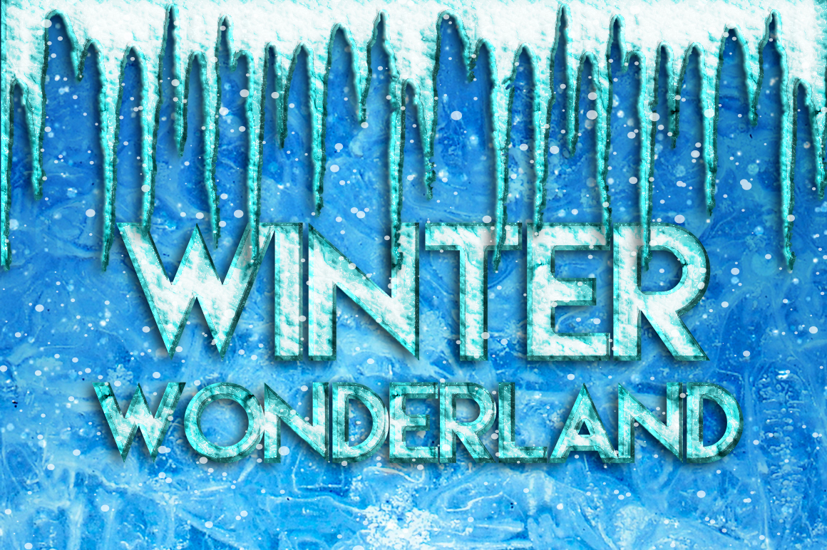 Snow & Ice Text Effects example image 2