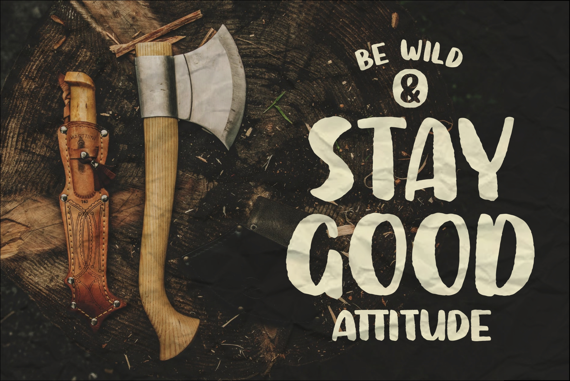 SUTTER CAMP - Adventure Typeface example image 2