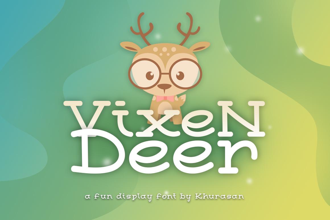 Vixen Deer example image 1