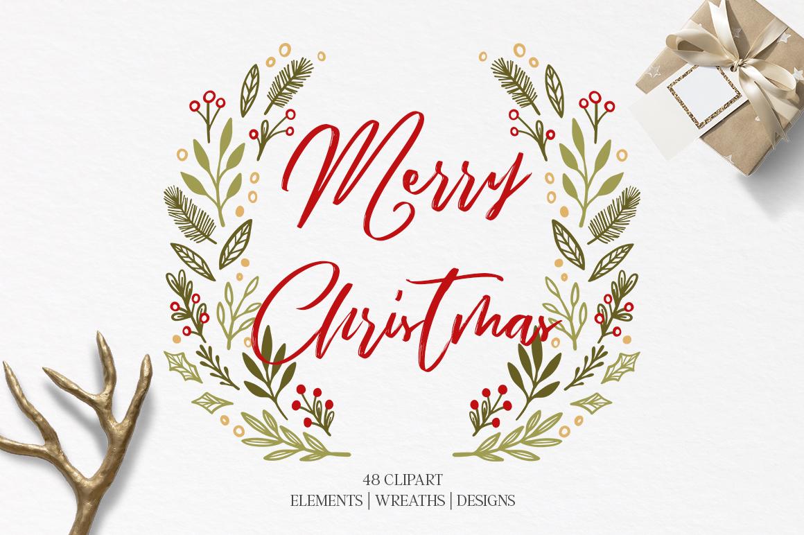 Merry Christmas set example image 1