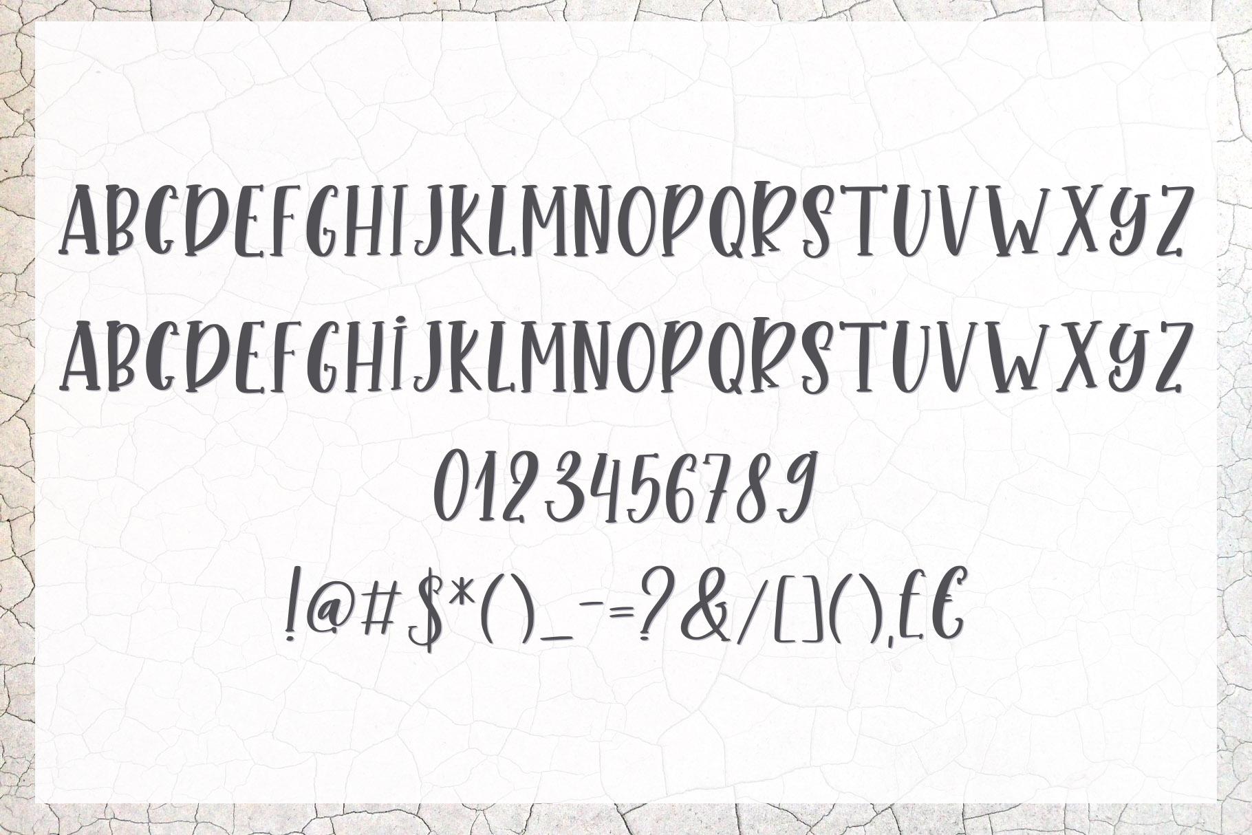 Bonefish Font Trio example image 10