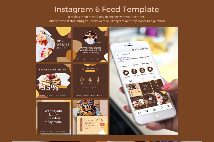 Recipe eBook Creator with Instagram and Youtube Kit example image 6