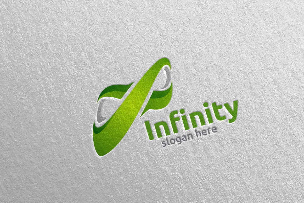 Infinity loop logo Design example image 2