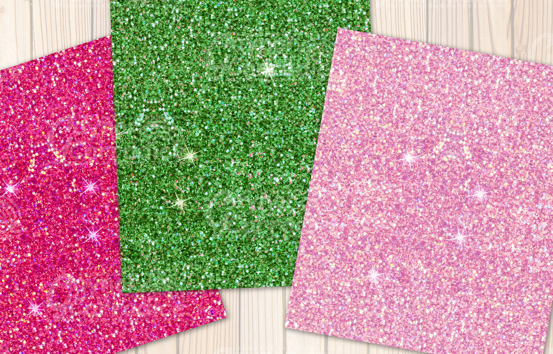Beach Please glitter collection example image 4