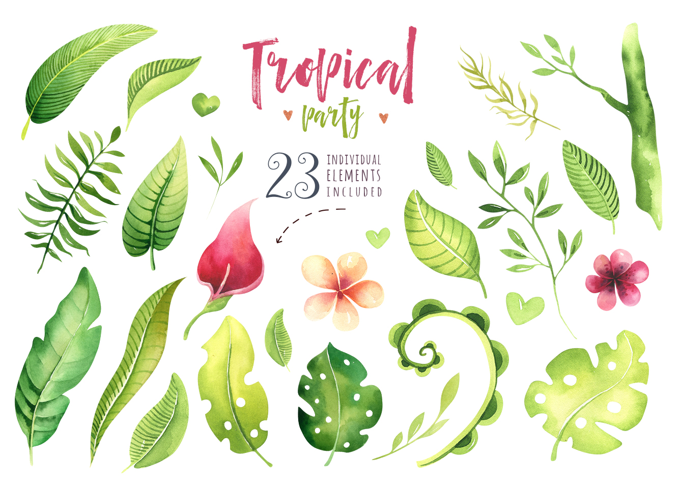 Tropical party III.Sloth collection example image 4