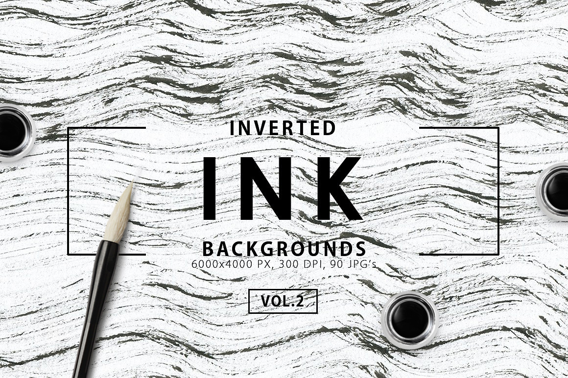Only Ink & Marble Backgrounds Bundle example image 21