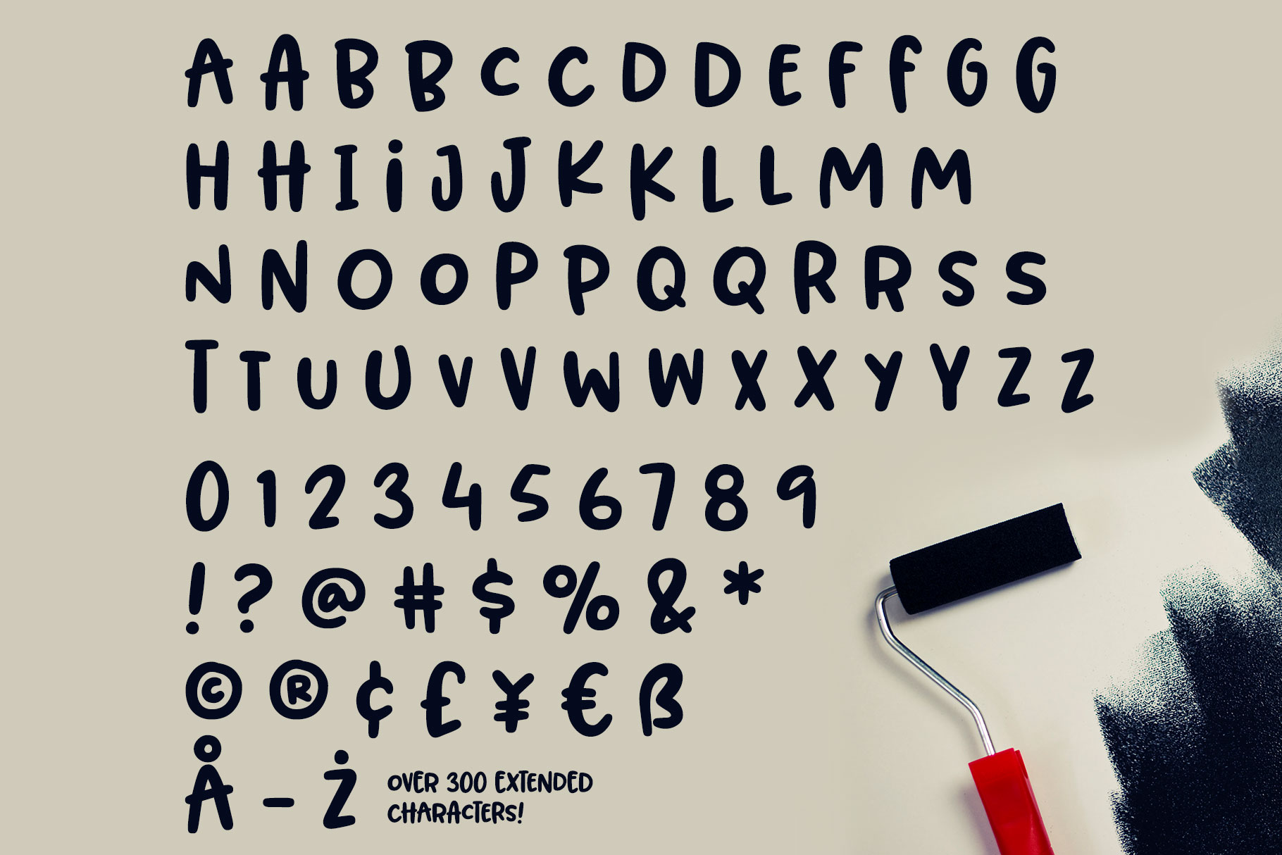 BLORP! A fun, weird little font! example image 2