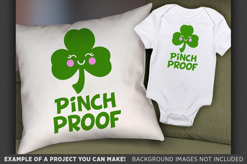 Pinch Proof SVG - Kids St. Patricks Day Shirt SVG - 1077 example image 2