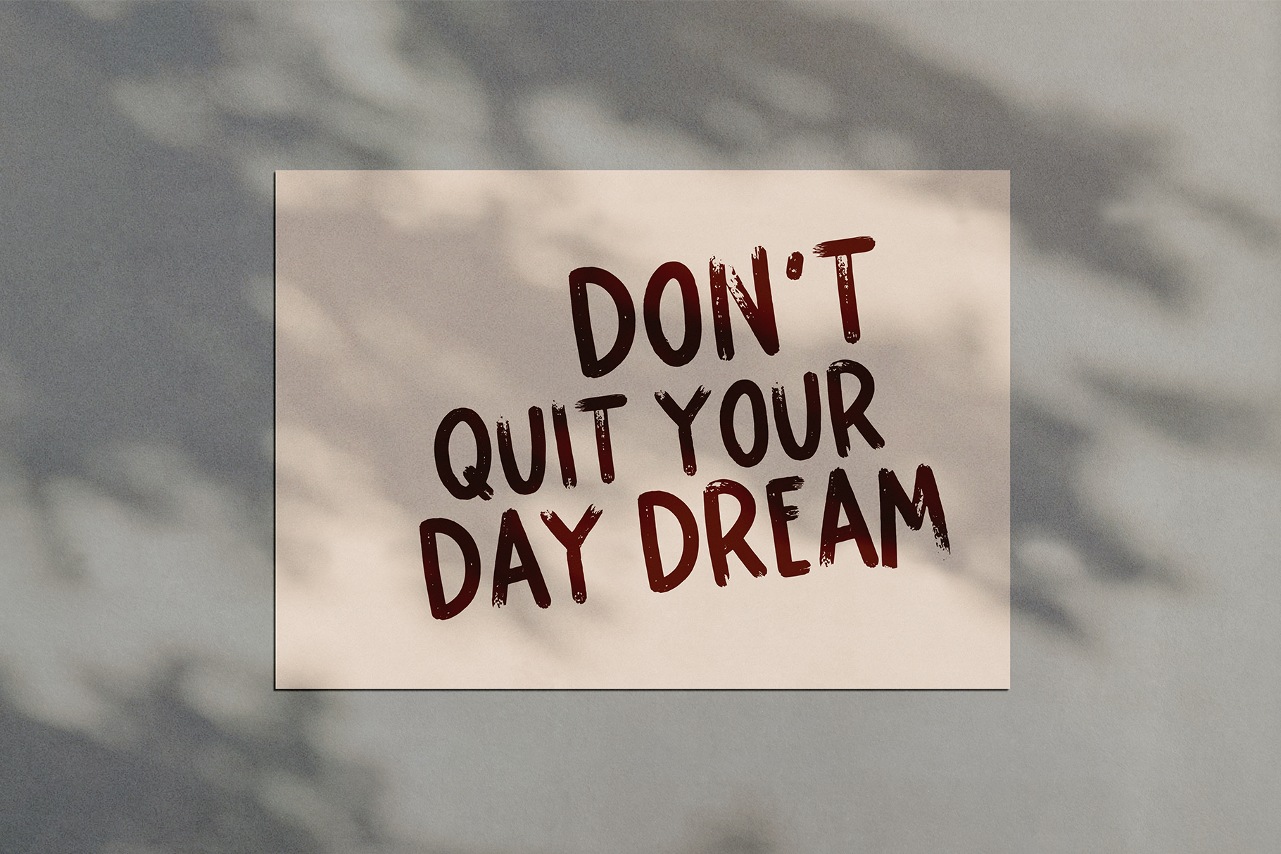 Dreamland - Handwritten Brush Font example image 13