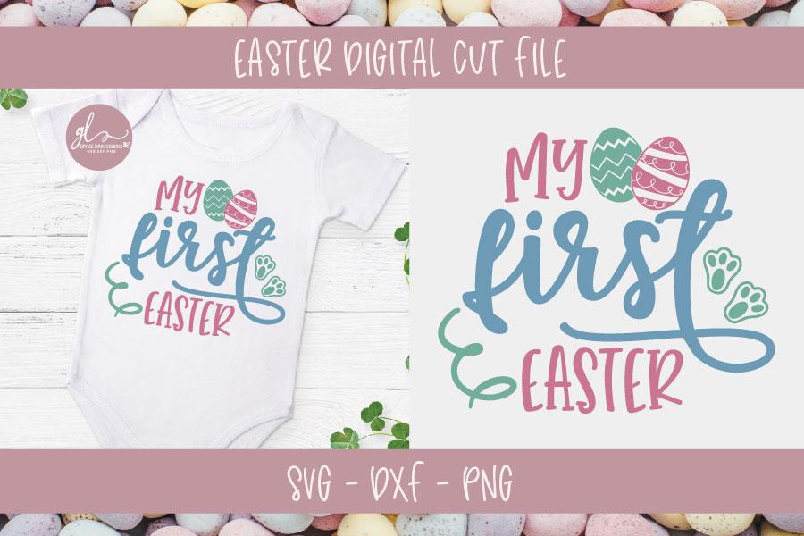 Easter Bundle Vol. 2 - 10 Easter Designs - SVG, DXF & PNG example image 7