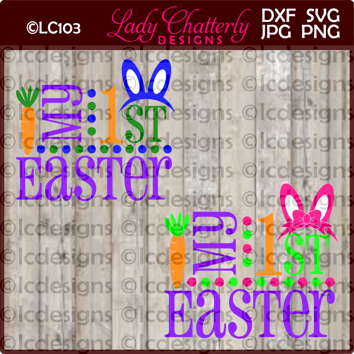 LC103 My First Easter example image 1