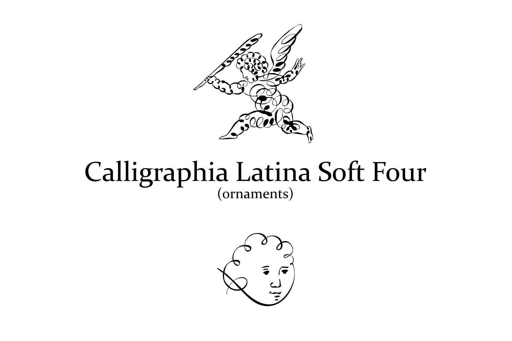 Calligraphia Latina Soft 4 example image 3