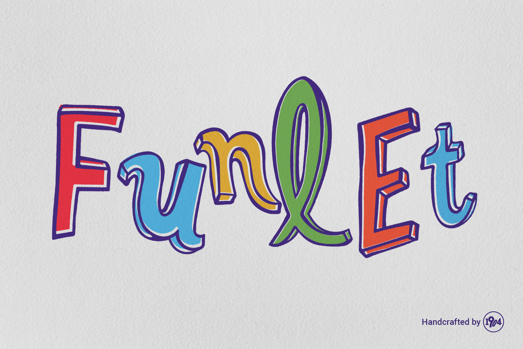 Funlet Typeface example image 1