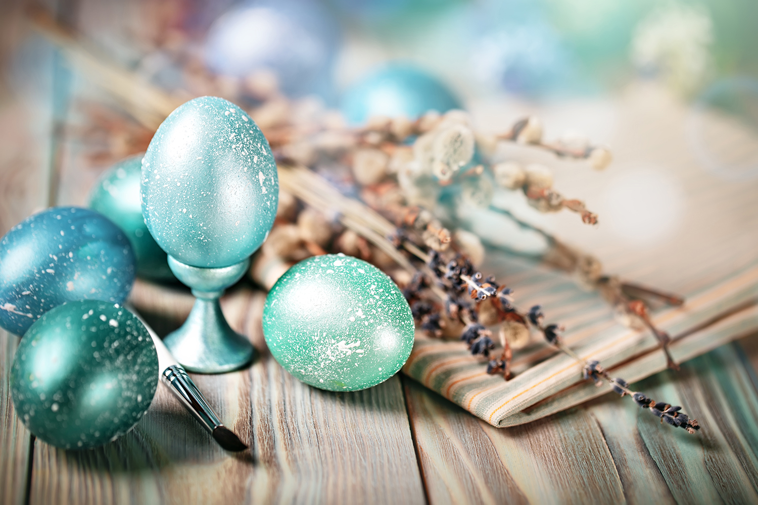 Bundle of greeting Easter backgrounds. example image 2