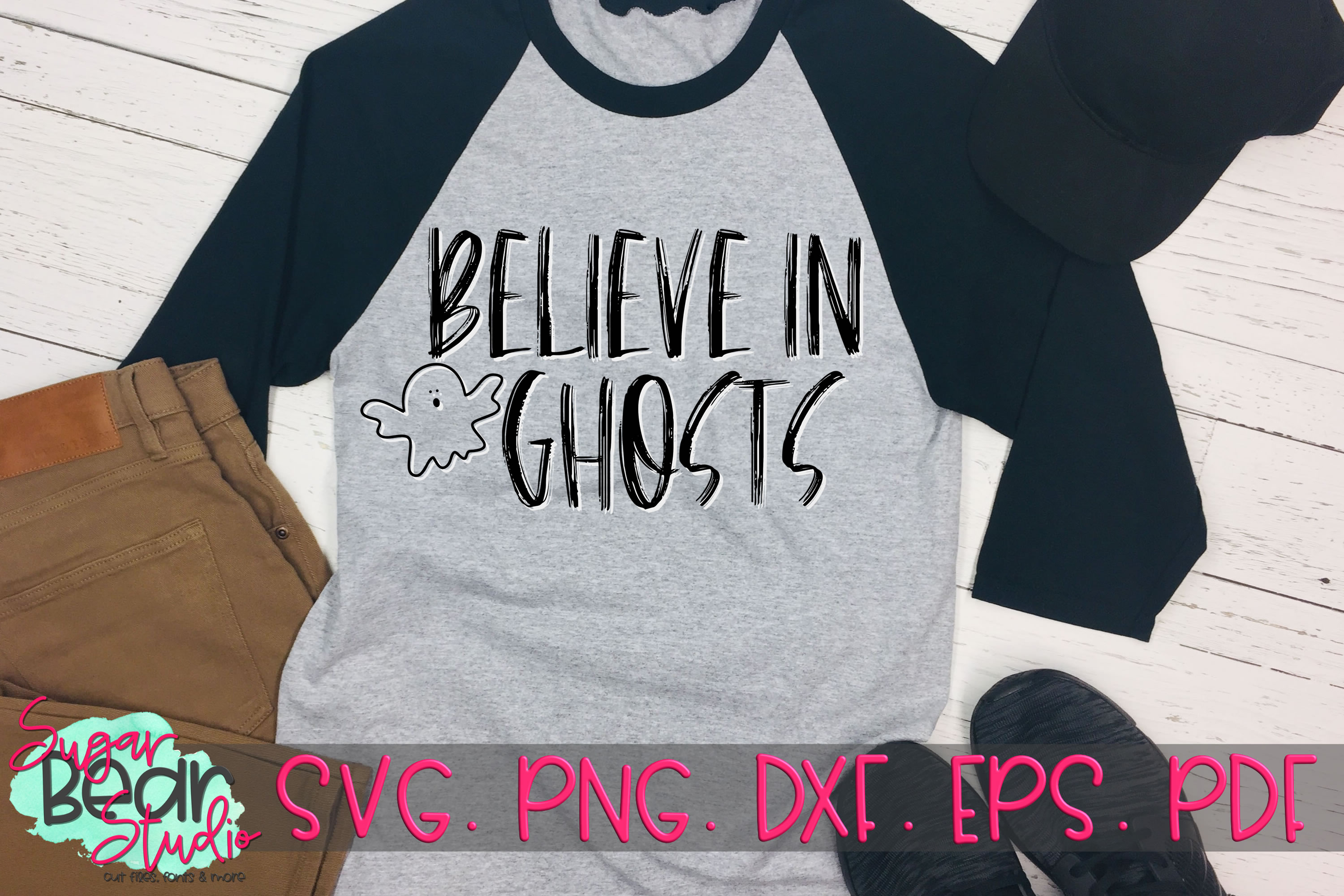 Believe in Ghosts - A Halloween SVG example image 2