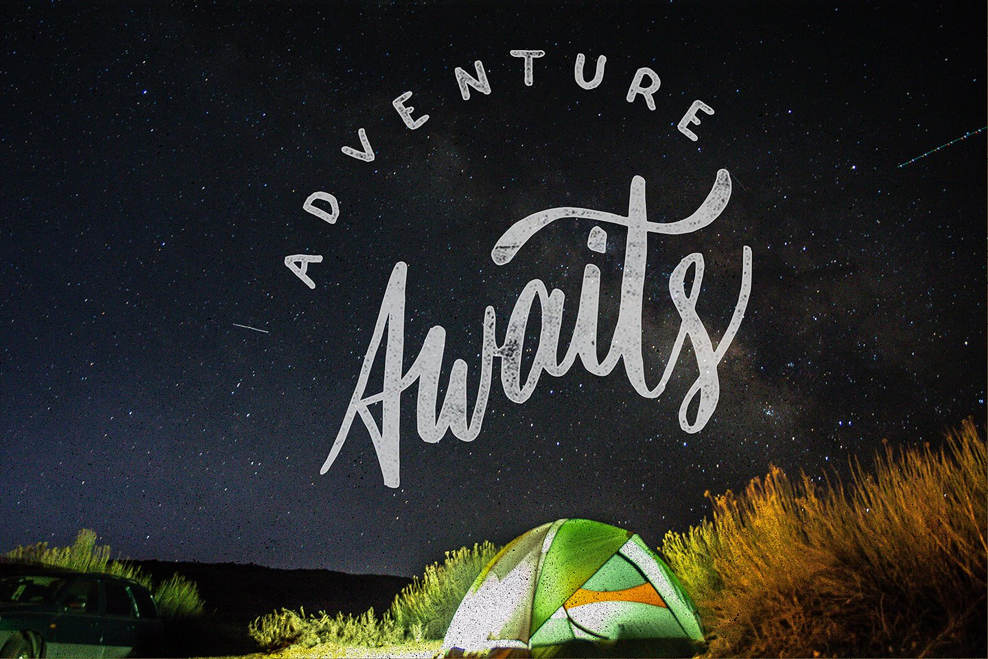 Adventure Lettering Illustrations example image 5