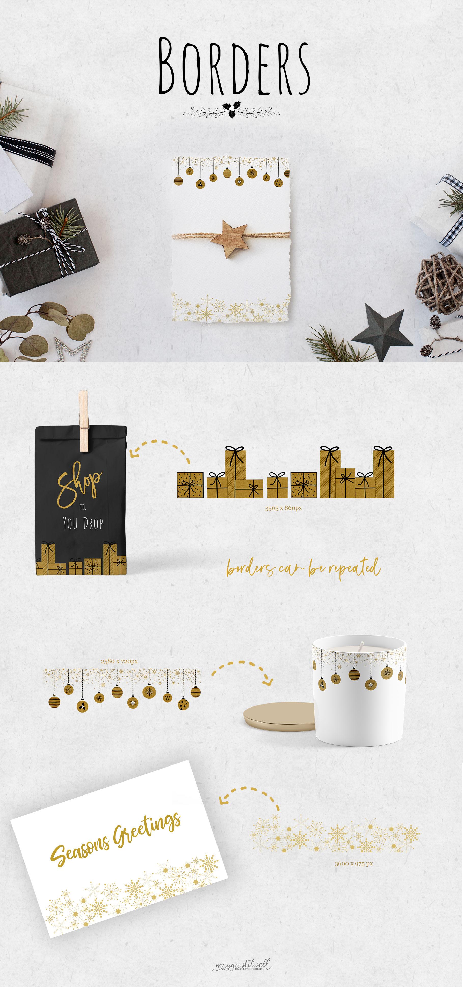 Black & Gold Christmas example image 6