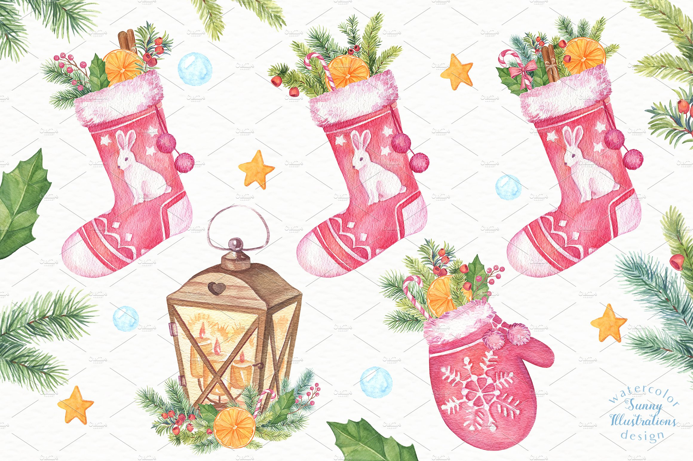 Merry Christmas Collection II example image 5