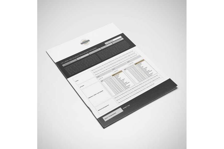 US Letter Job Analysis Worksheet Template example image 6