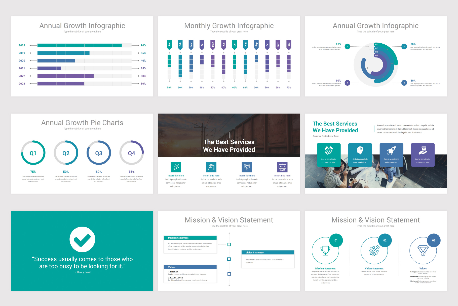 Annual Report Keynote Template example image 7